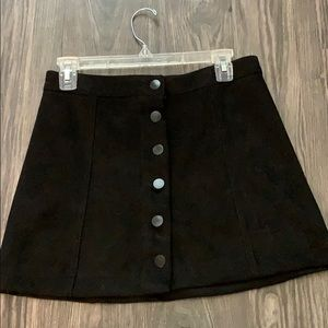 Dresses & Skirts - VELVET BLACK SKIRT